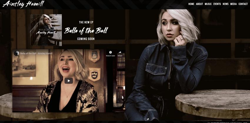 Electric Kiwi: Web Design for Singers