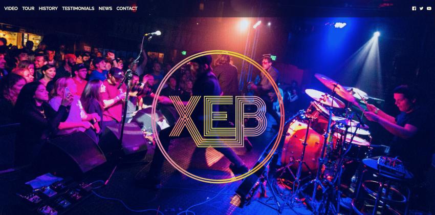 Website Design for Bands