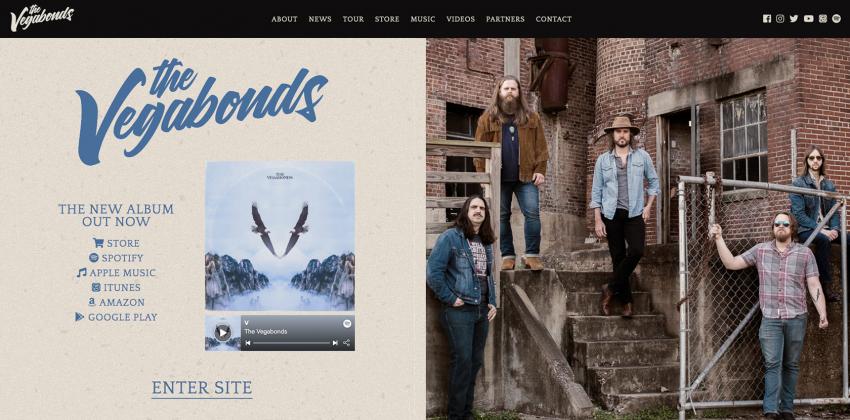Web Design for Bands
