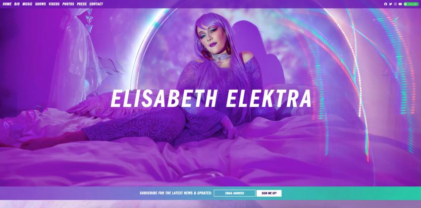 Electric Kiwi - Web Design for Musicians